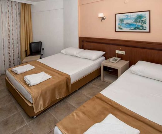 Kleopatra Develi Hotel-Trible Oda -kleopatrajhotels.com 01