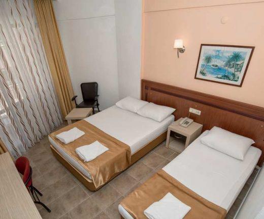 Kleopatra Develi Hotel-Trible Oda -kleopatrajhotels.com 02